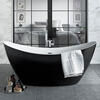 OSTERLEY FREESTANDING BLACK BATH