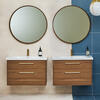 Britton Shoreditch Wall Hung Double Drawer 1000mm Vanity Unit Main