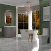 Chester 800 Luxury Bath Suite Sink Unit Toilet Cashmere - 179882