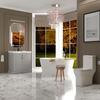 Traditional Dove Grey Bathroom Suite