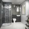 Oliver Shower Suite 1200 Fitted Furniture with Toilet - 179887