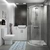 Oliver Shower Suite 800 Fitted Furniture Storage Sink Toilet - 179890