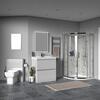 Ashford 800 Grey Basin Unit BTW Toilet Quad Shower - 179935