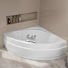 Acrylic Laguna Plus 1450 Corner Bath Tub & Front Panel