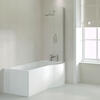 Ethan 1700 P Shaped Shower Bath Right Handed Model