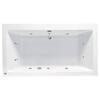 Vernwy 1800x1100 Kingsize Whirlpool Bath - 23-046