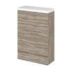 500mm Compact WC Unit & Polymarble Top (Colour Options)