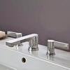 SILVER desirable Modern 3 Hole Shower Mixer Taps