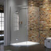 Matki Illusion Quintesse Offset Shower Cubicle 1400 900 IQT