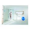 WSD1500 High Quality Bathroom Frame-less Walk In Corner Shower Enclosure