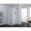 AQuadart Venturi 6 Pivot Door 900 Shower Enclosure Contemporary Bathroom