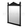 rectangle Black Aluminium Mirror 55cm x 75cm