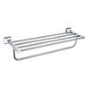 Chancery Double Bathroom Towel Shelf Designer Bathroom