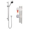 round Chrome Slide Rail Kit Multi-Function Handset multi function