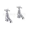 "Claremont Basin tap 3"" pair of crosshead taps"