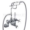 "Claremont Bath shower mixer wall mounted with ""S"" adjuster"