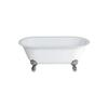 Classico Grande Freestanding Roll Top Bath Large Claw Chrom Foot