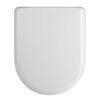 Luxury Rounded D Shape Soft Close Toilet and Top Fix Soft Close Seat