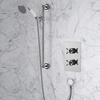 Dawlish Concealed Shower & Premium Adjustable Shower Rail