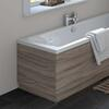 Driftwood Straight Bath End Panel & Plinth 700