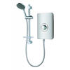 Elegance Electric Shower For Modern Bathroom 8.5Kw Metalic And Chrome