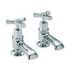 Designer Traditional Twin basin Pillar taps