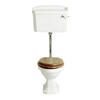 Granley White Pan With Low Level Cistern - 3323