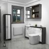 Hacienda 1500 Fitted Bathroom Furniture Pack White Modern