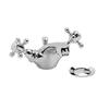 sheek Traditional Basin Mono Mixer Tap
