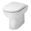 Ivo Comfort Back to Wall High Toilet and Soft Close Seat Ideal for Taller People and the Elderly