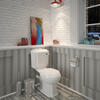 Legend Traditional Design Close Coupled Pan with Cistern and Soft Close Seat