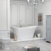 Marilyn Bow 1800 X 800 Freestanding Bath White - 178573