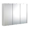 Mercury 900mm Mirror  Cabinet With 3 Doors Contemporary single