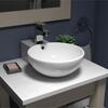 Monaco Tap Ledge Surface-top Basin curved Countertop