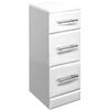 New Ecco 350 X 300  3 Drawer Unit Ellegant
