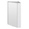 New Ecco Corner Mounted Mirror Cabinet Modern single
