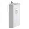 New Ecco Corner Bathroom Unit And Basin Ellegant