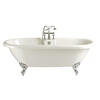 Oban Double Ended Free Standing Roll Top Bath  Bathroom