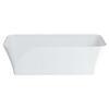 Palermo Grande Clear Stone Freestanding Modern White Bath
