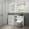 Patello 1400 Vanity Furniture Set White Modern Bathroom