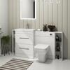 Patello 1600 Fitted Furniture Bathroom Vanity Set White High Quality