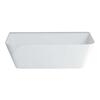 Patinato Petite White Clear Stone Bath