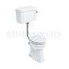 Traditional Regal Low level toilet Pan with cistern and flush kit