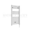 Round Chrome Electric Bathroom Towel Rail