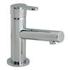 Mini Mono Basin Mixer Single Lever Deck Mounted Smooth Bodied