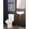 Slim Line Compact Cloakroom Suite Contemporary