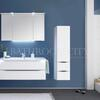 Solitaire 6025 Bathroom medium Storage Unit 1 open shelf doors 2 drawers - 178371