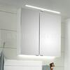 Solitaire 6025 mirror cabinet incl LED top light 650 - 178378