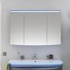 Solitaire 9020 Mirrored cabinet incl. LED 3 mirrored doors - 178312