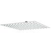 Stainless Steel Slim Square Fixed Shower Head 400x400mm